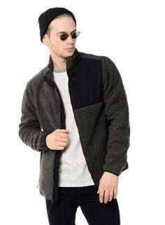 8581cc384cd NEW Aeropostale Mens Sherpa Fleece Full-Zip Jacket Sz S small Long Sleeves  Gray