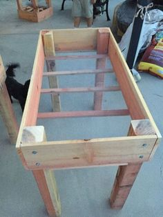 Outdoors Discover DIY raised bed planter - full tutorial with materials and cut list DIY Hochbeet P Elevated Planter Box Elevated Garden Beds Raised Planter Beds Diy Planter Box Raised Beds Diy Raised Garden Beds Planter Table Raised Gardens Garden Boxes Elevated Planter Box, Elevated Garden Beds, Raised Planter Boxes, Planter Beds, Diy Planters, Raised Garden Beds, Raised Beds, Fall Planters, Garden Planters