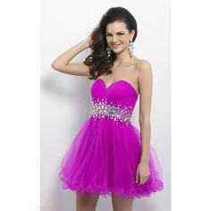 Blush 9662 After Prom Mini Strapless Sleeveless ($259) ❤ liked on Polyvore featuring dresses, daffodil, formal dresses, formal prom dresses, cocktail prom dress, purple cocktail dresses, purple homecoming dresses and strapless homecoming dresses