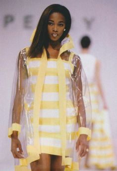 Naomi Campbell @ Perry Ellis S/S 1991 by Marc Jacobs
