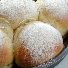 Soft and Simple Bread Rolls.  Ingredients    600gms/ 1 pound 5 ounces plain flour  2 teaspoons instant/fast action yeast  400mls/14 fl oz warm water  1 tablespoon of dried milk powder or use 200mls water and 200mls milk  4 tablespoons vegetable oil  2 teaspoons white sugar  1 teaspoon salt  1/4 teaspoon baking powder