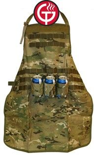 camo apron beer holder for the men in my life.