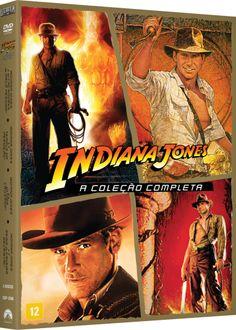 DVD Coleção Indiana Jones - 4 Discos