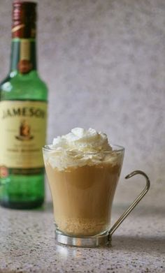 Irish Coffee---  the luck of the Irish and the Catholic blessings -all in a glass:)