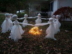 Ghostly seance