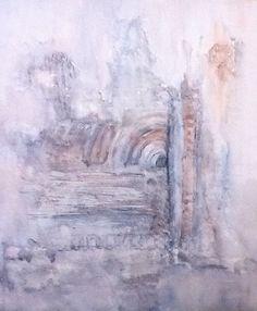 'Misty Morning' Mary Arkless , mixed media