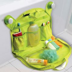Brica Bath  Nursery Tuck Away Tote (accessories not included)