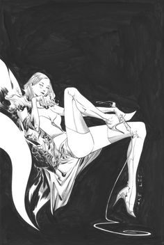 Emma Frost by Jae Lee  ★ || CHARACTER DESIGN REFERENCES (https://www.facebook.com/CharacterDesignReferences & https://www.pinterest.com/characterdesigh) • Love Character Design? Join the #CDChallenge (link→ https://www.facebook.com/groups/CharacterDesignChallenge) Share your unique vision of a theme, promote your art in a community of over 40.000 artists! || ★