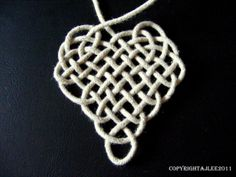 Celtic Heart - Step by step tutorial