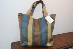 Large Reversible Corduroy & Denim Tote Purse Bag #H1517 by DruandMegzDesign on Etsy