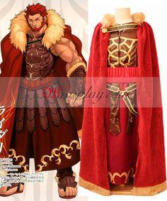 Fate//Zero Servant Rider Iskandar Cloak Outfits Cosplay Costume Custom Made