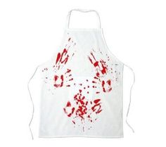 Spinning Hat Blood Bath Butcher's Apron,$14.81