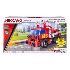 Spin Master Meccano Junior Fire Engine Deluxe