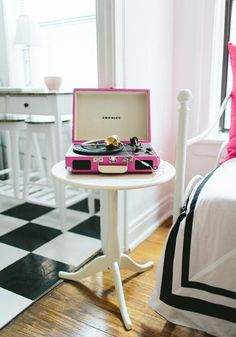 Pink record player!