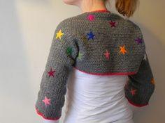 Chez Chouke: My starry crochetvest+ quick tutorial ༺✿Teresa Restegui http://www.pinterest.com/teretegui/✿༻
