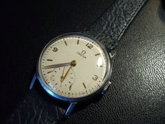 Vintage Omega 30T2 PC Swiss wristwatch from 1947 by WatchWorld, $380.00