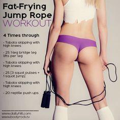 Total body workout: touwtje springen werkt! - Real Healthy