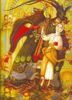 folkthings:    An illustration by Katerina Shtanko