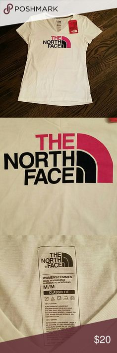 North Face Women's V Neck Tee North Face Tops Tees - Short Sleeve