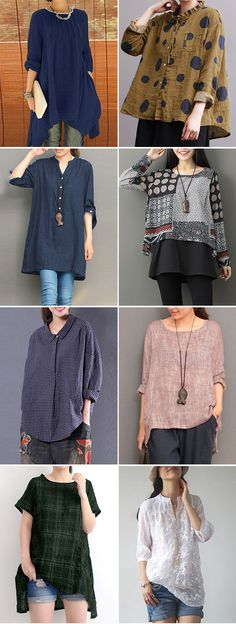 [ UP TO 52% OFF ] 2018 Women casual fashion tops, multicolor and size options, worldwide sale!