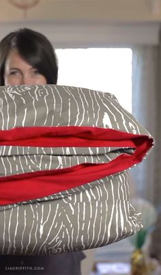 How To Sew A Duvet Cover Video