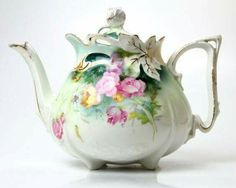 Delicate tea pot.
