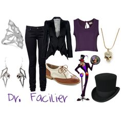 """Dr. Facilier (Princess and the Frog)"" by colorsgalore on Polyvore"