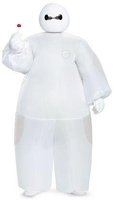 Big Hero 6 White Baymax Inflatable Child Costume