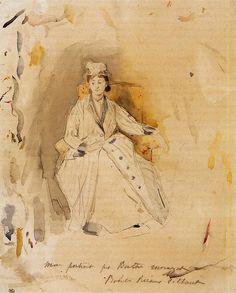 """Berthe Morisot (1841-1895), """"Rosalie Reisener"""""""