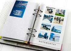 A look at some ways to add memorabilia and extra photos to my @heidiswapp Memory Planner