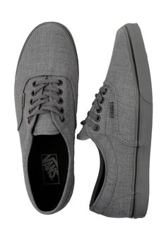 the latest addition to my vans collection. vans dressed up LPE shoe in smoked pearl gray