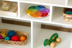 The Kavanaugh Report: Mixed Age Montessori Play Shelves