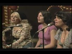 sweetest gift dolly parton emmylou harris linda ronstadt - YouTube