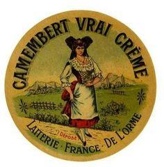 Un camembert se mariera à merveille avec un Bordeaux Rouge ou un Beaujolais! Ou un Sauvignon Blanc!