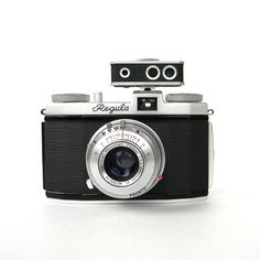 35Mm Camera | King Regula I vintage 35mm camera - silver and black - flash and other ...