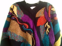 VIntage Cropped Beaded Sweater Free Shipping. $36.00, via Etsy.