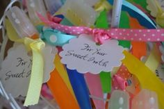 "Toothbrushes...perfect!  Have you read the story ""Sweet Tooth?""  One of my favorites..."