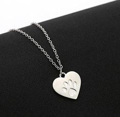 EoCot Silver Plated Austrian Crystal Heartbeat Pendant Necklace Lover Gift for Women Girls