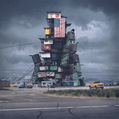 The Electric State - Simon Stålenhag's New Narrative Artbook by Fria Ligan — Kickstarter