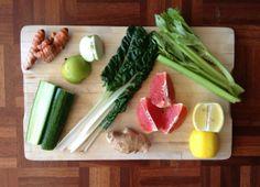 Grapefruit n Greens Grapefruit, Celery, Juice, Vegetables, Recipes, Food, Recipies, Essen, Juices