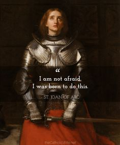 Monday Morning with the Saints {no. 27 - St. Joan of Arc} | Katie Sciba at The Catholic Wife