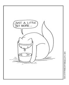 {cats + glasses of water} yup, this happens in my home all the time :)