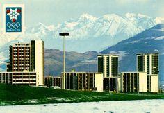 Grenoble, jeux olympiques de 1968.