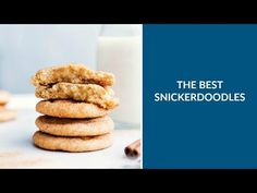 The BEST ever, soft & chewy, thick snickerdoodle cookies. These cookies are always everyone's absolute favorite snickerdoodle!