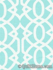 Flights of Fancy DC3893-Aqua Fabric by Paula Prass