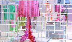 Kartell Bourgie Lamp - beautiful, almost ethereal lighting. A perfect centerpiece for any trailer Next Bedroom, I Believe In Pink, Interior Decorating, Interior Design, Interior Ideas, Fashion Lighting, Cool Lighting, Lighting Ideas, Lights
