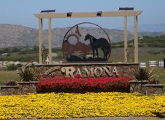 Ramona, CA. Our new hometown...;-)