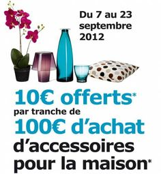 ikea 10 euros offerts tous les 100 euros d'achats