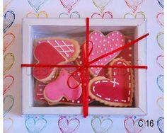 Caixas para padrinhos de casamento em Doce Maria Biscoitos Decorados