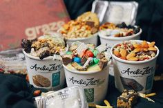 """I heard it's #NATIONALDESSERTDAY !!! You can never skip that D 😏😏😏 -Thanks @grazeuse and @arcticzero for these delicious treats. Please do check out @grazeusa because they are superfoods that come in so many unique flavors and they are all so delicious. Use code """"JJYF99LFB"""" for your 1st and 5th FREE BOX (8 packs per box) -True story: i have been quitting dessert for a while or at least trying to cut off as much as I could because of all the fitness things. But probably no more…"""
